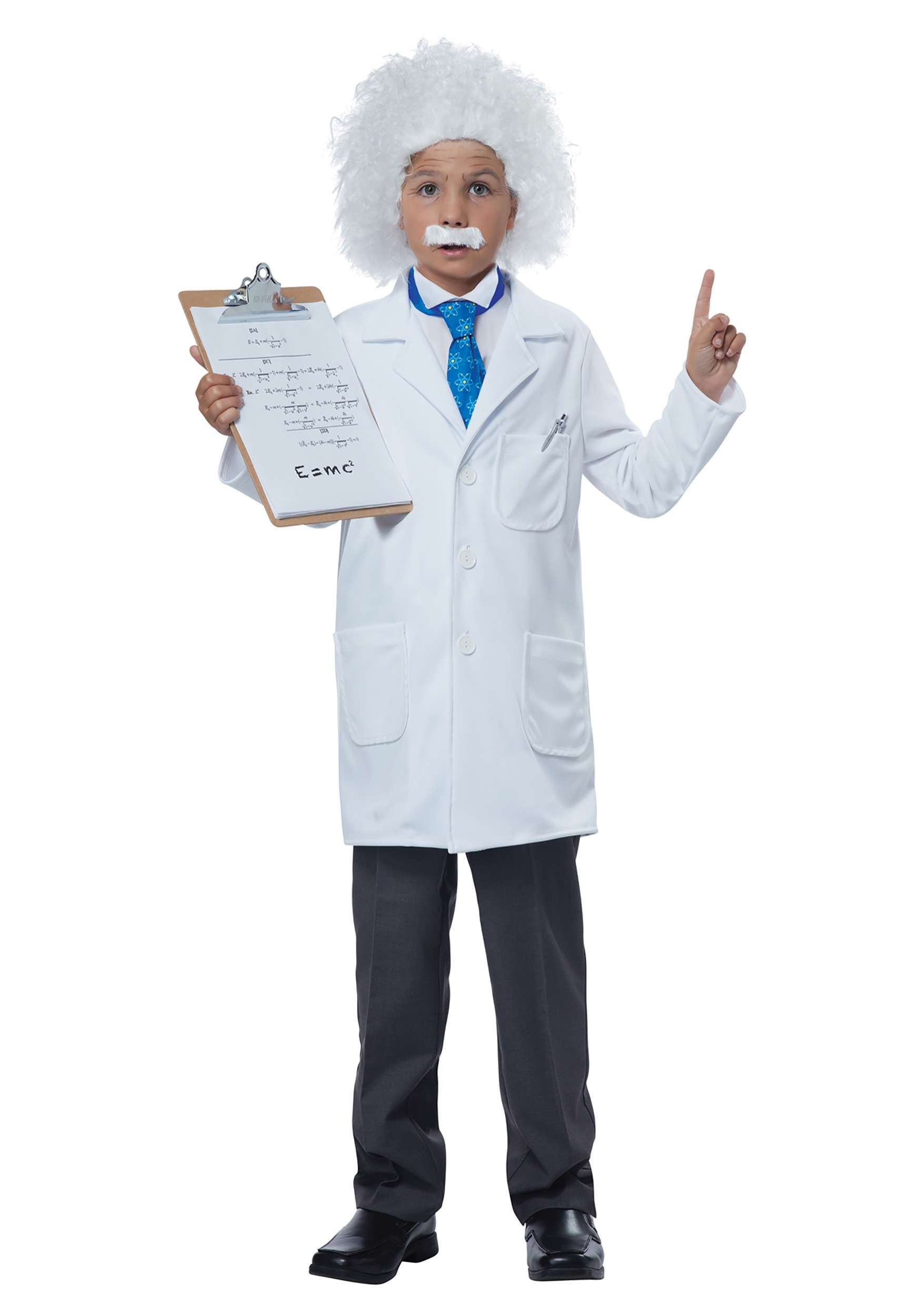 Child Albert Einstein/Physcist Costume  sc 1 st  Halloween Costumes & Child Albert Einstein/Physicist Costume