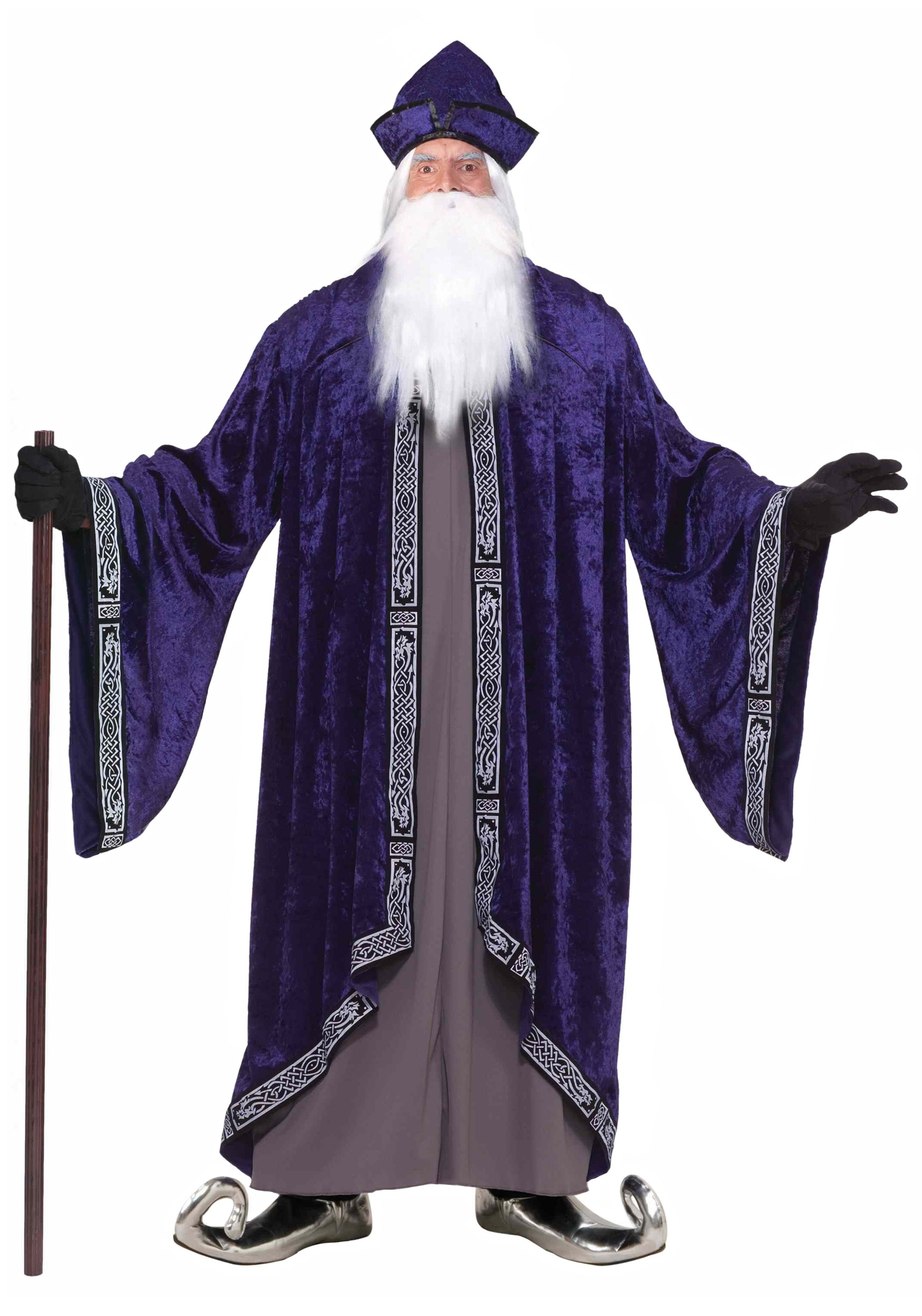 Plus Size Grand Wizard Costume  sc 1 st  Halloween Costumes : dark wizard costume  - Germanpascual.Com