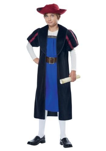 Christopher Columbus/Explorer Costume for Kids