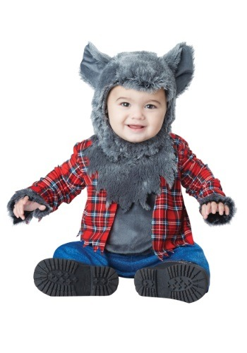 Click Here to buy Wittle Werewolf Baby Costume from HalloweenCostumes, USA Funds & Shipping