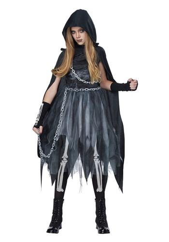 Kids Reaper Girl Costume