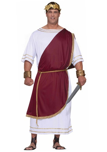 Click Here to buy Plus Size Mighty Caesar Costume 3X from HalloweenCostumes, CDN Funds