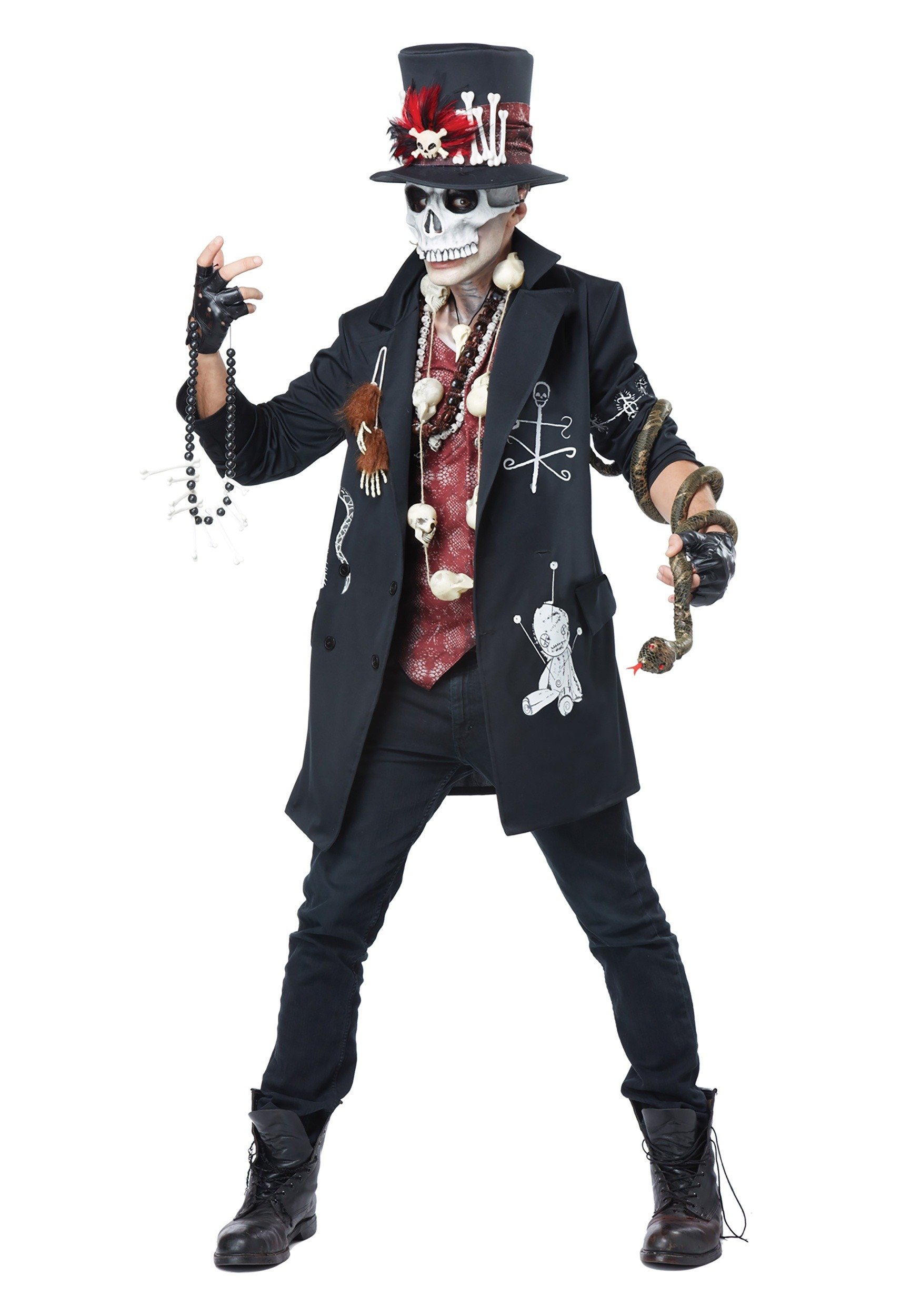 Adult Voodoo Dude Costume  sc 1 st  Halloween Costumes & VooDoo Doll u0026 Witch Doctor Costumes - HalloweenCostumes.com