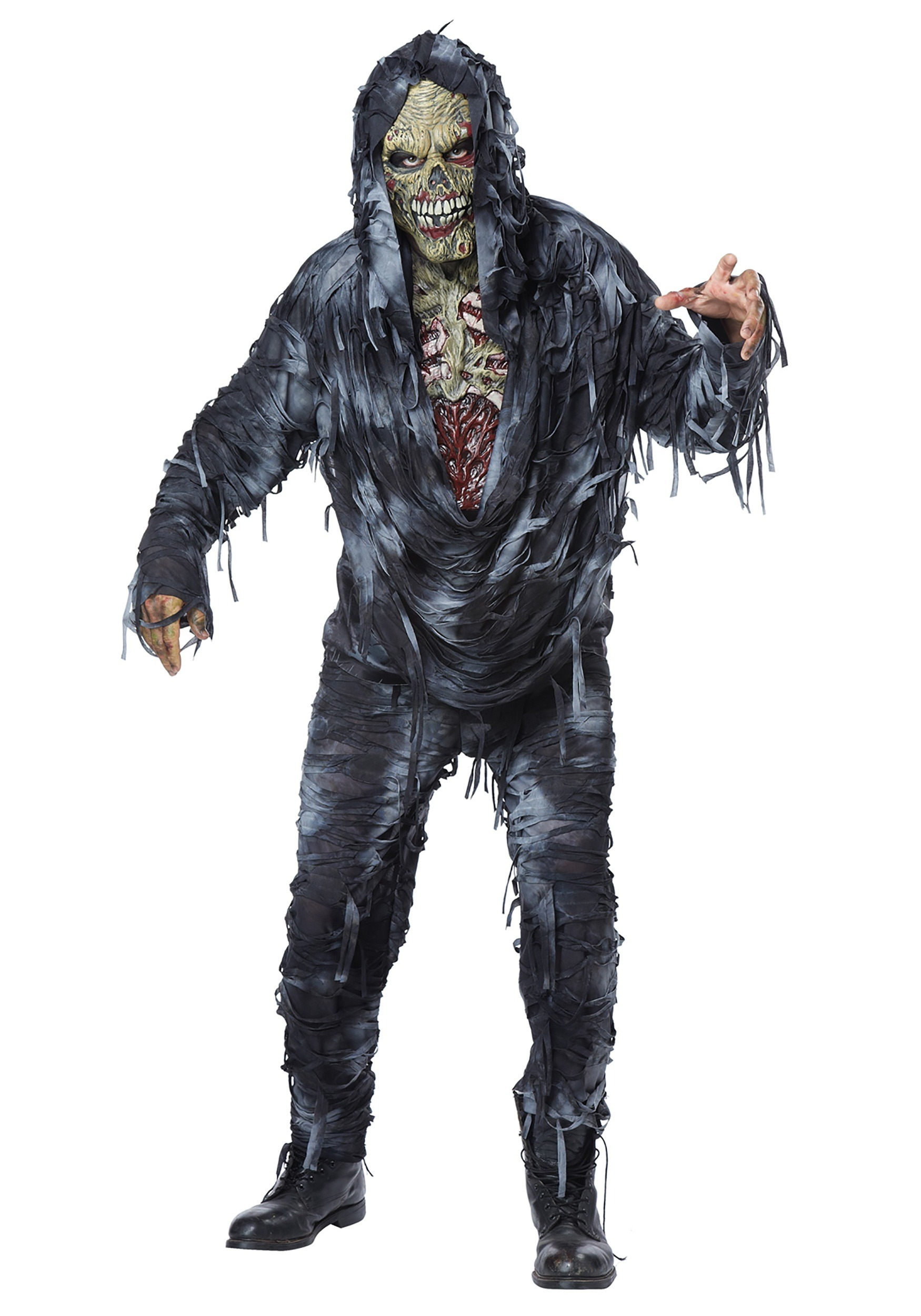 Zombie costumes walking dead costumes halloweencostumes adult rotten to the core costume solutioingenieria Image collections