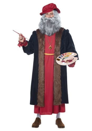 Click Here to buy Adult Leonardo Da Vinci Costume from HalloweenCostumes, USA Funds & Shipping