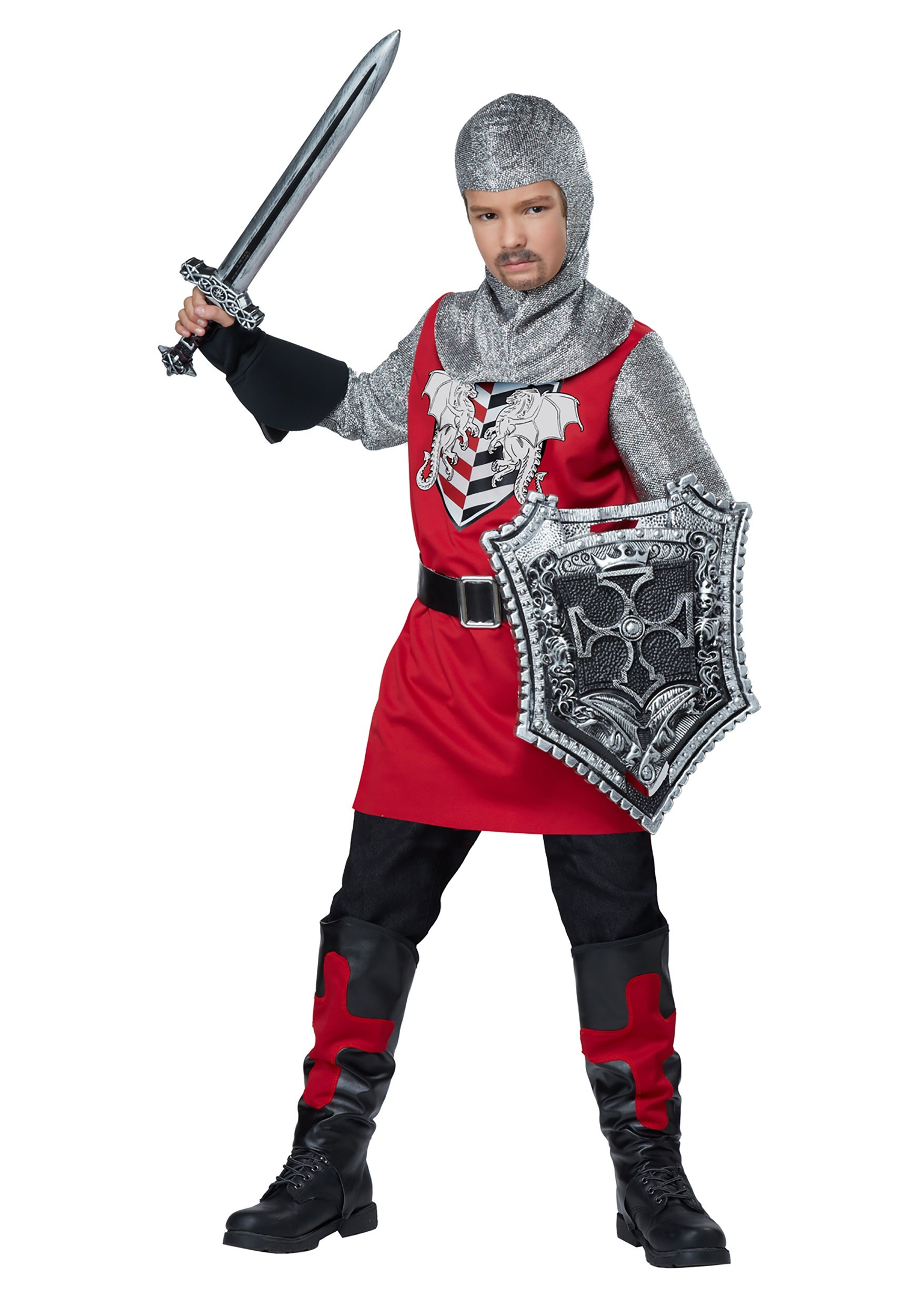 Child Brave Knight Costume
