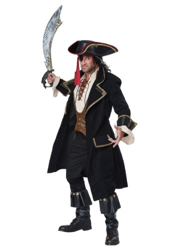 Click Here to buy Adult Deluxe Pirate Captain Costume from HalloweenCostumes, CDN Funds