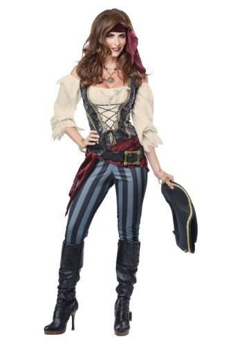 Adult Womens Brazen Buccaneer Costume