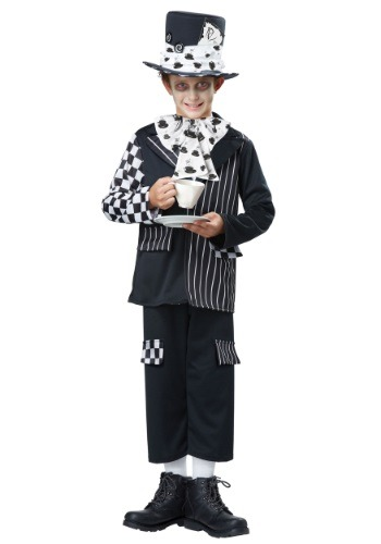 Click Here to buy Kids Dark Mad Hatter Costume from HalloweenCostumes, CDN Funds