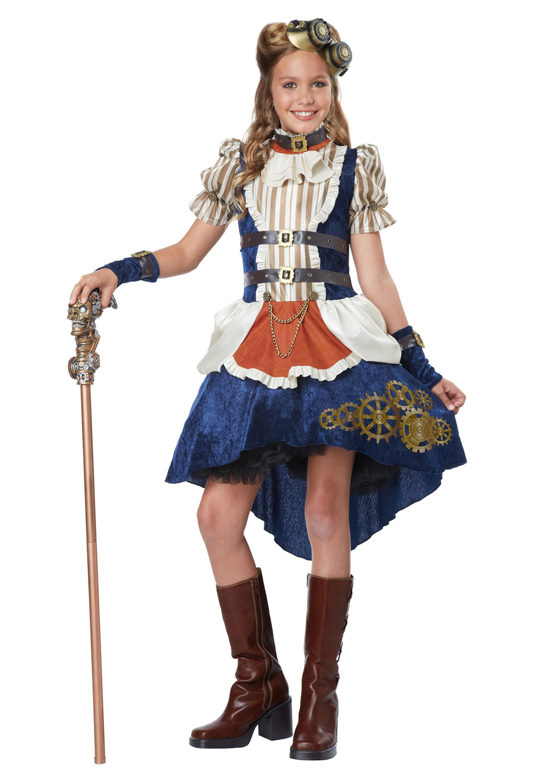 Steampunk Teen Girls Costume