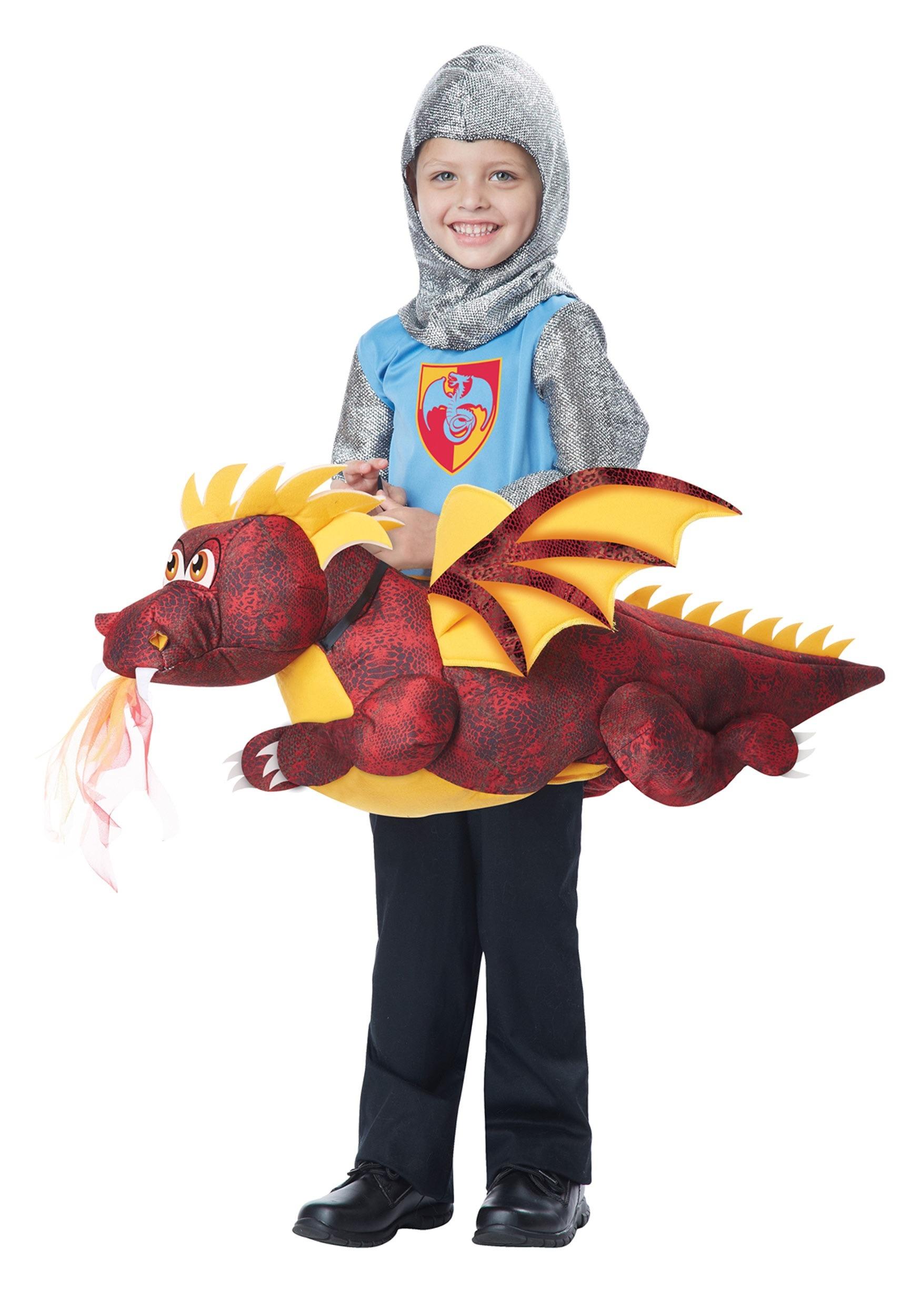 sc 1 st  Halloween Costumes & Child Ride a Dragon Costume