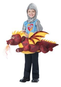 Child Ride a Dragon Costume