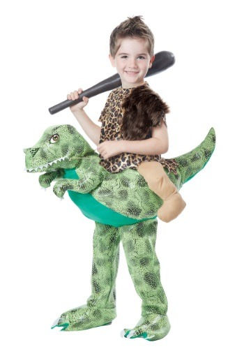 Click Here to buy Kids Ride a Dinosaur Costume from HalloweenCostumes, USA Funds & Shipping