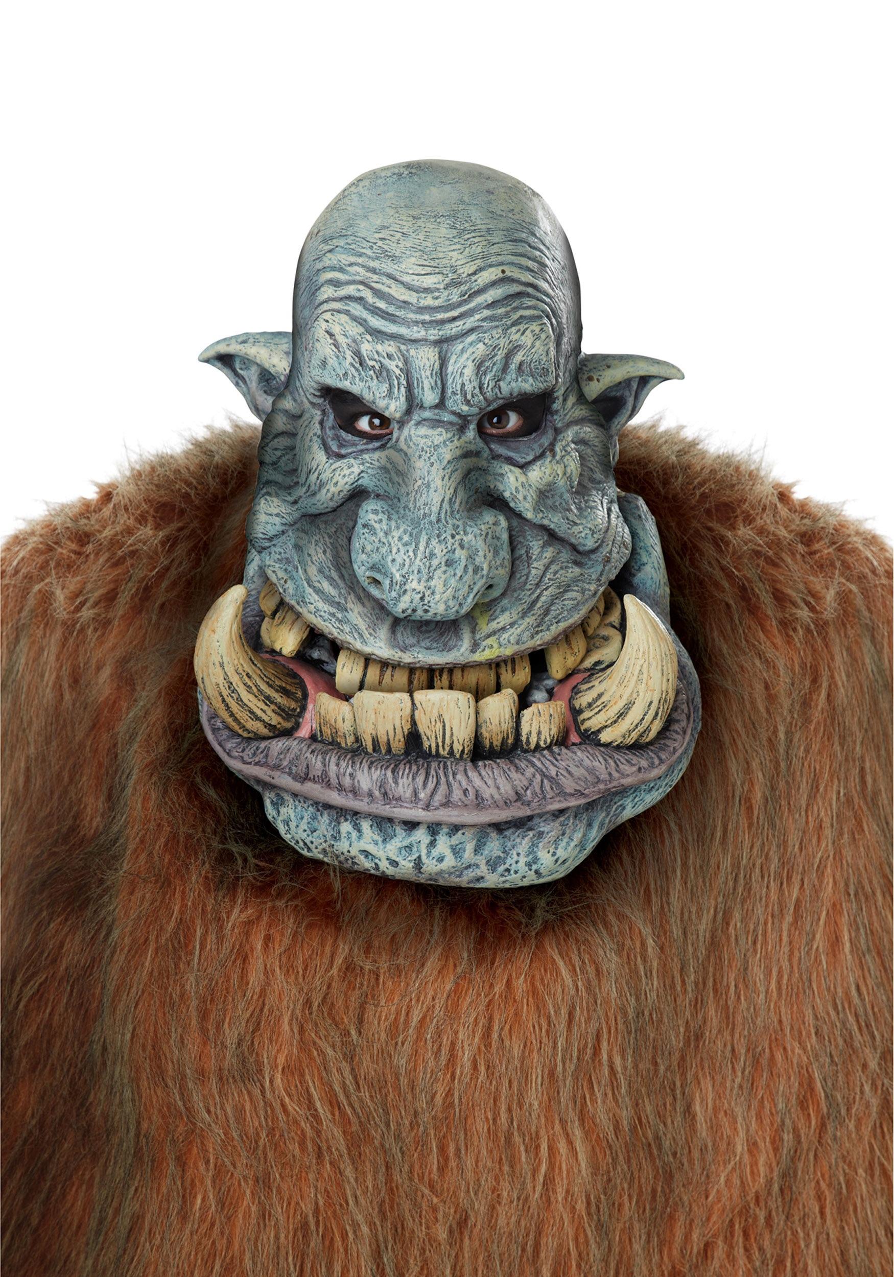 Adult Battle Troll Big Mouth Mask CA60615