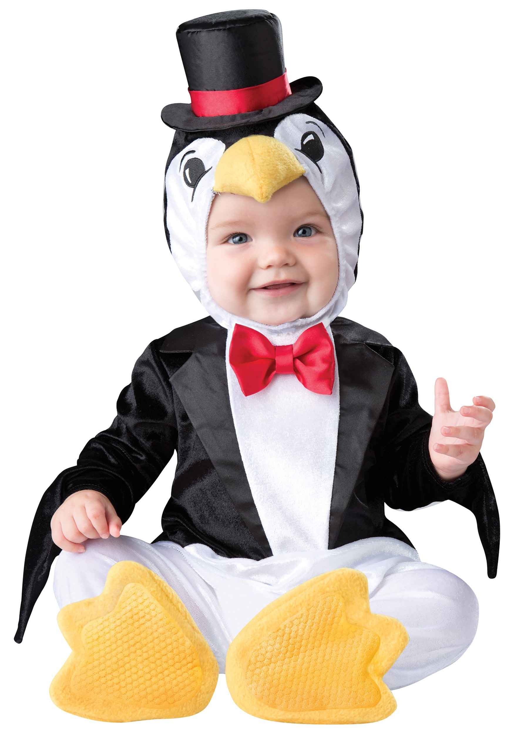 infant playful penguin costume - Infant Penguin Halloween Costume