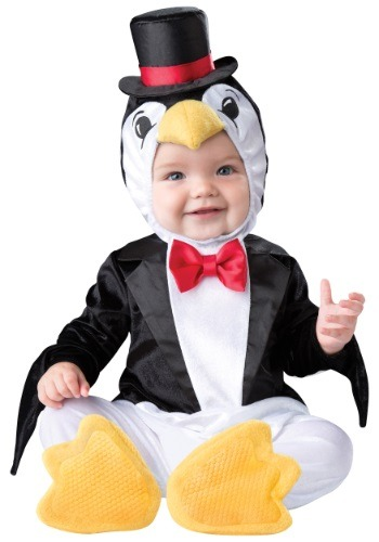 Click Here to buy Baby Playful Penguin Costume from HalloweenCostumes, USA Funds & Shipping