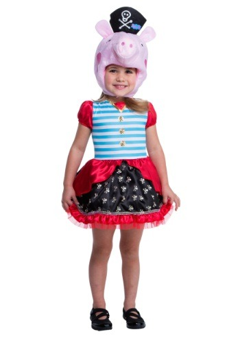 Click Here to buy Peppa Pig Pirate Costume from HalloweenCostumes, USA Funds & Shipping