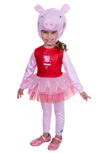 Click Here to buy Peppa Pig Super Deluxe Tutu Costume from HalloweenCostumes, CDN Funds