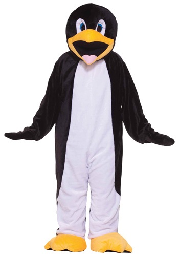 Click Here to buy Deluxe Mascot Penguin Costume from HalloweenCostumes, USA Funds & Shipping