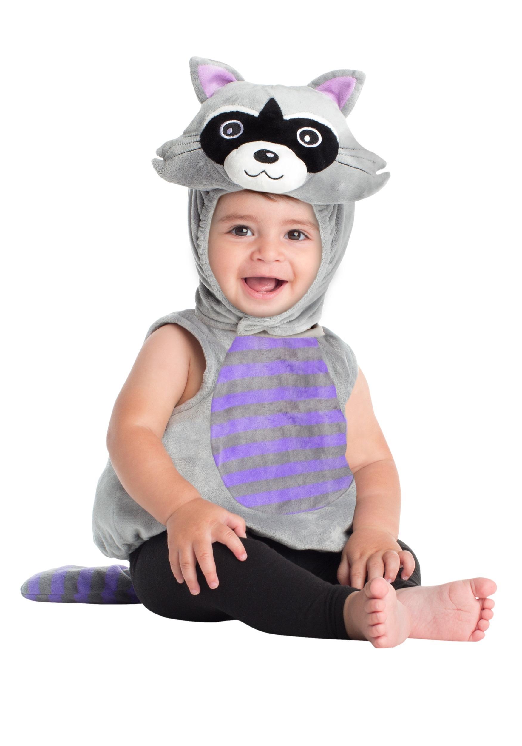 infant raccoon costume