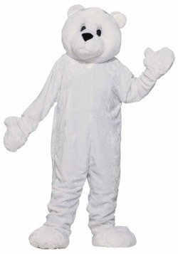 Mascot Polar Bear Costume