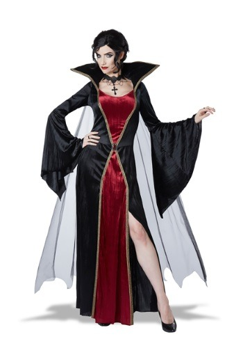 Click Here to buy Womens Classic Vampire Costume from HalloweenCostumes, CDN Funds