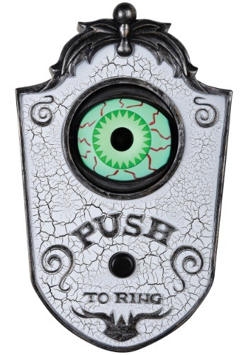 Click Here to buy White Eye Doorbell Prop from HalloweenCostumes, CDN Funds