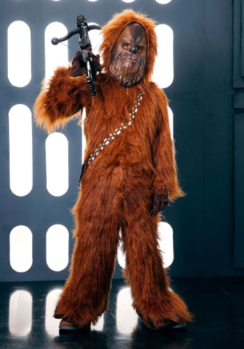 deluxe star wars chewbacca costume for kids