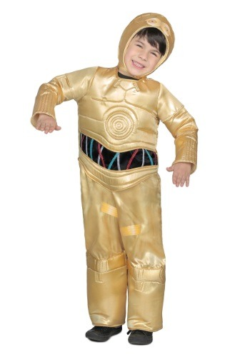 Image of Child Deluxe C-3PO Costume
