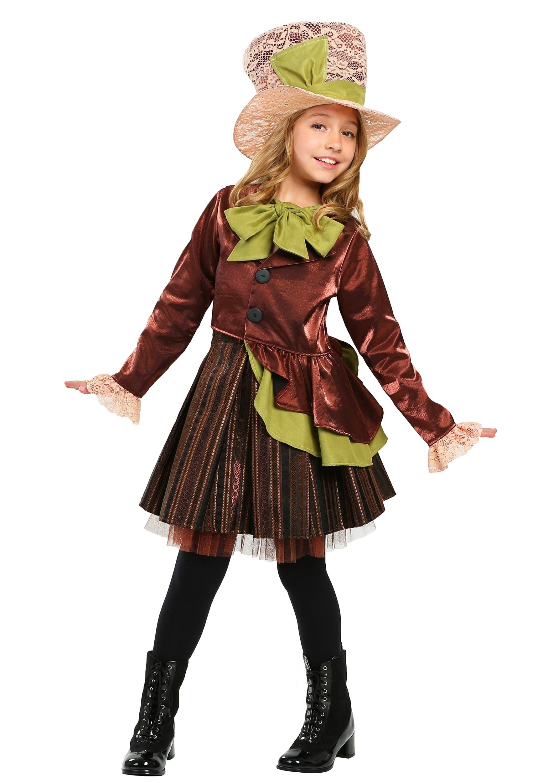 Girls Mad Haddie Costume - Costumes For Girls
