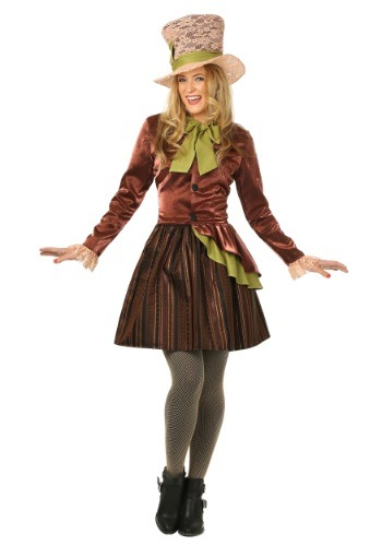 Click Here to buy Womens Mad Haddie Costume from HalloweenCostumes, USA Funds & Shipping