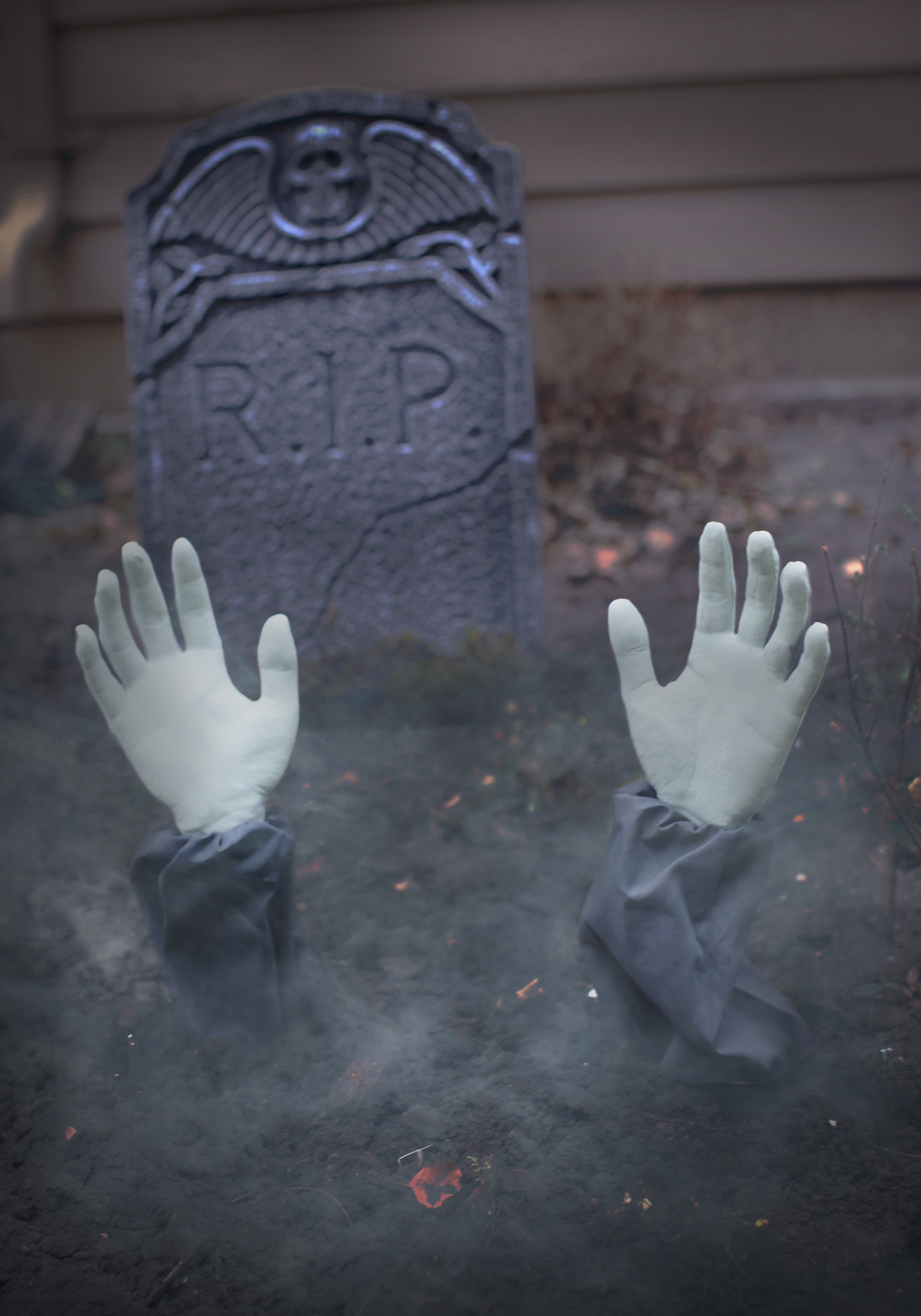 Zombie Arm Lawn Stakes Halloween Decoration