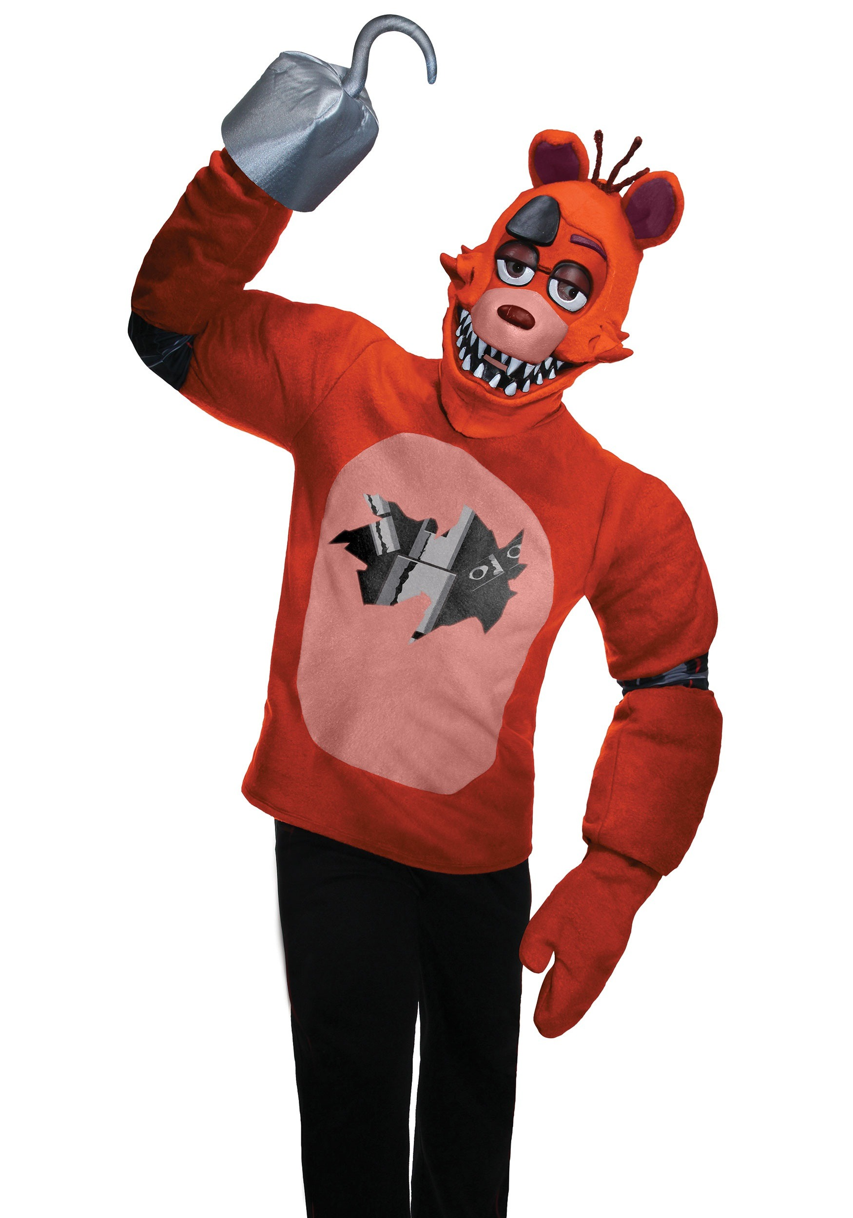FNAF Adult Foxy Costume  sc 1 st  Halloween Costumes & Five Nights at Freddyu0027s Adult Foxy Costume