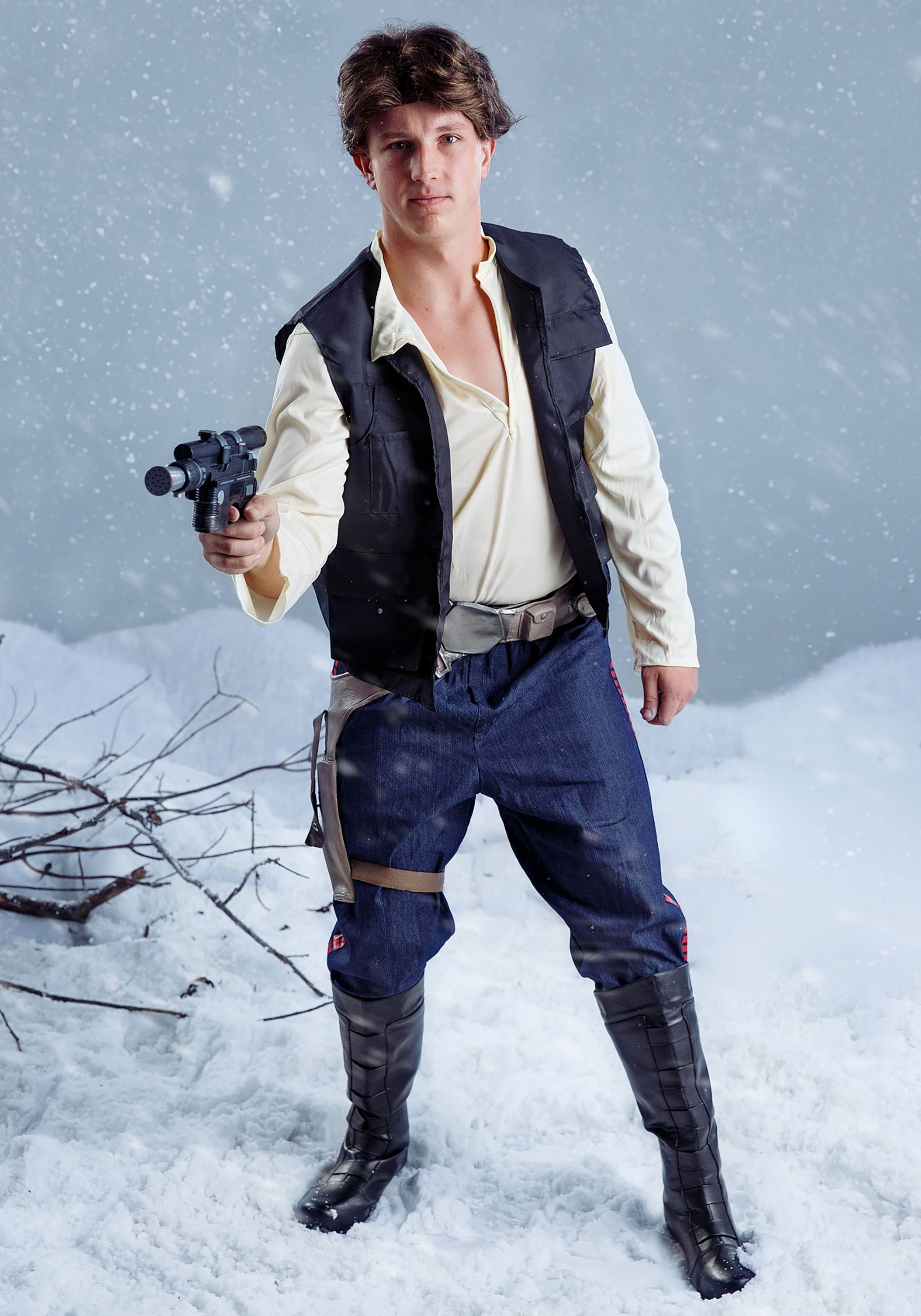 Star Wars Adult Han Solo Wig-1739