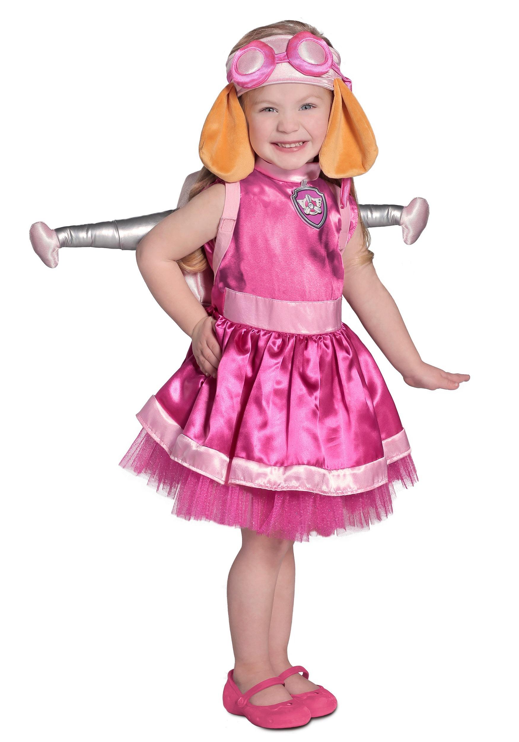 Deluxe Paw Patrol Sky Costume  sc 1 st  Halloween Costumes & Child Deluxe Paw Patrol Skye Costume