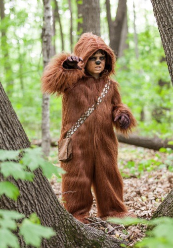 [Toddler Deluxe Chewbacca Costume] (Deluxe Chewbacca Costumes)