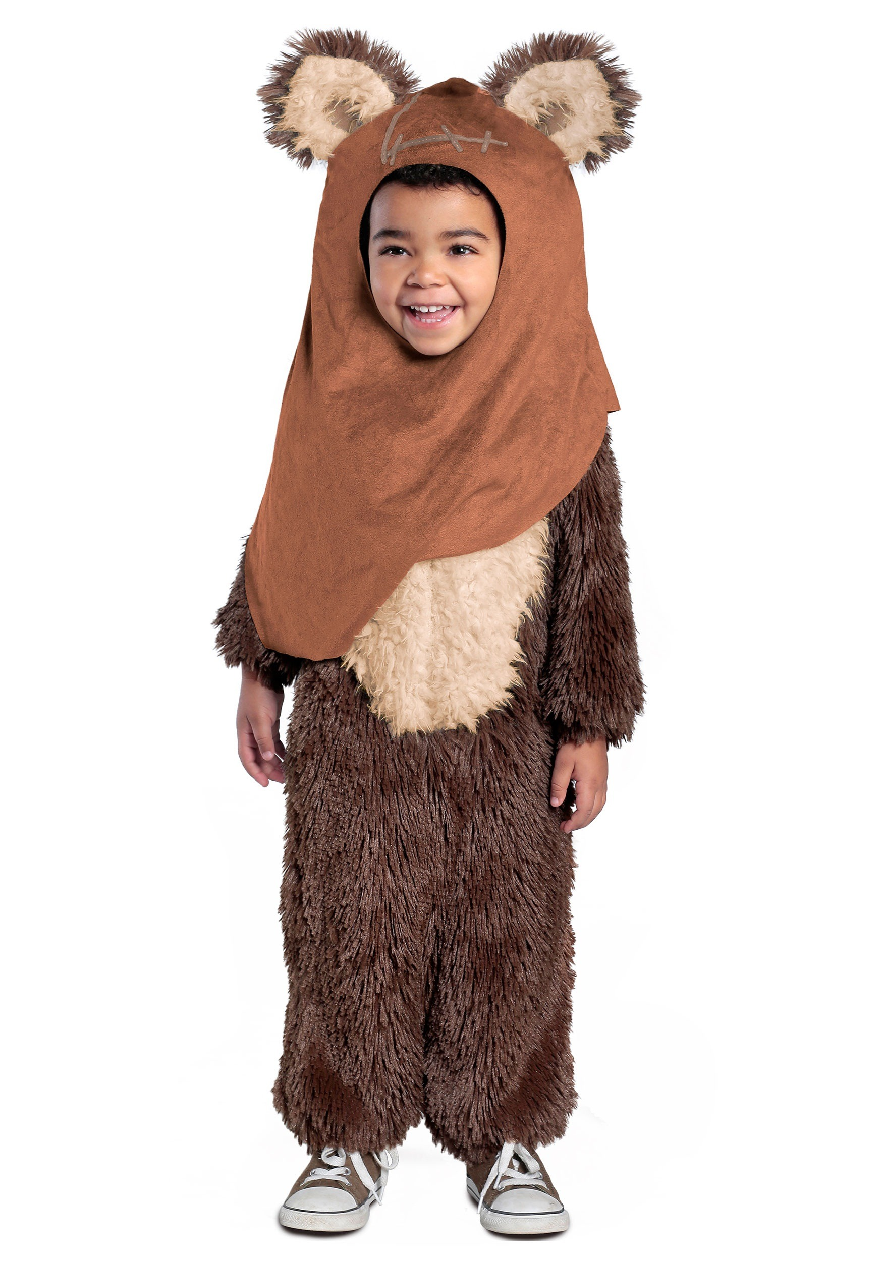 toddler deluxe wicket ewok costume. Black Bedroom Furniture Sets. Home Design Ideas