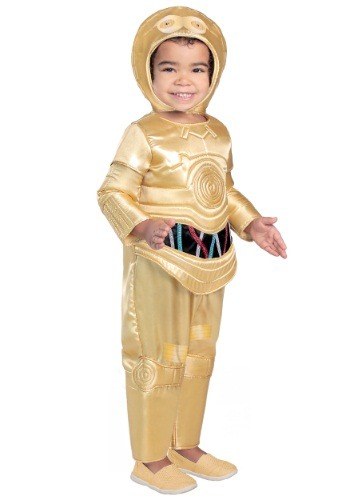 Toddler Deluxe C-3PO Costume