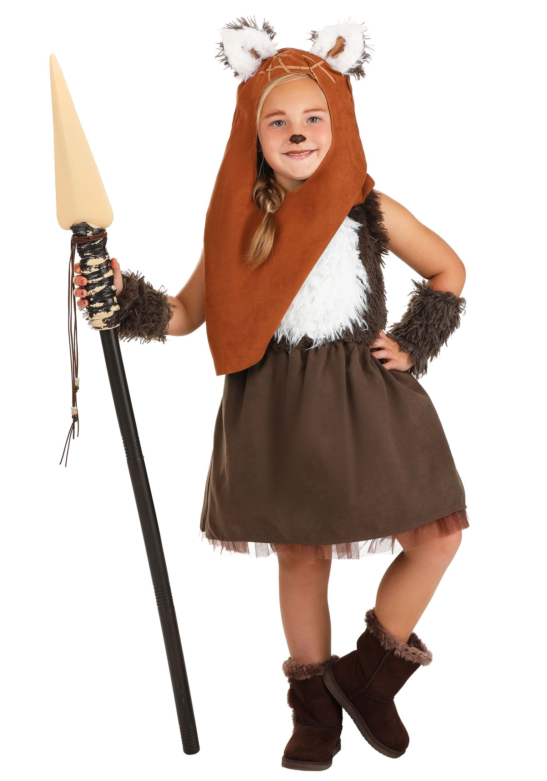 girls star wars wicket dress - Gir Halloween Costumes
