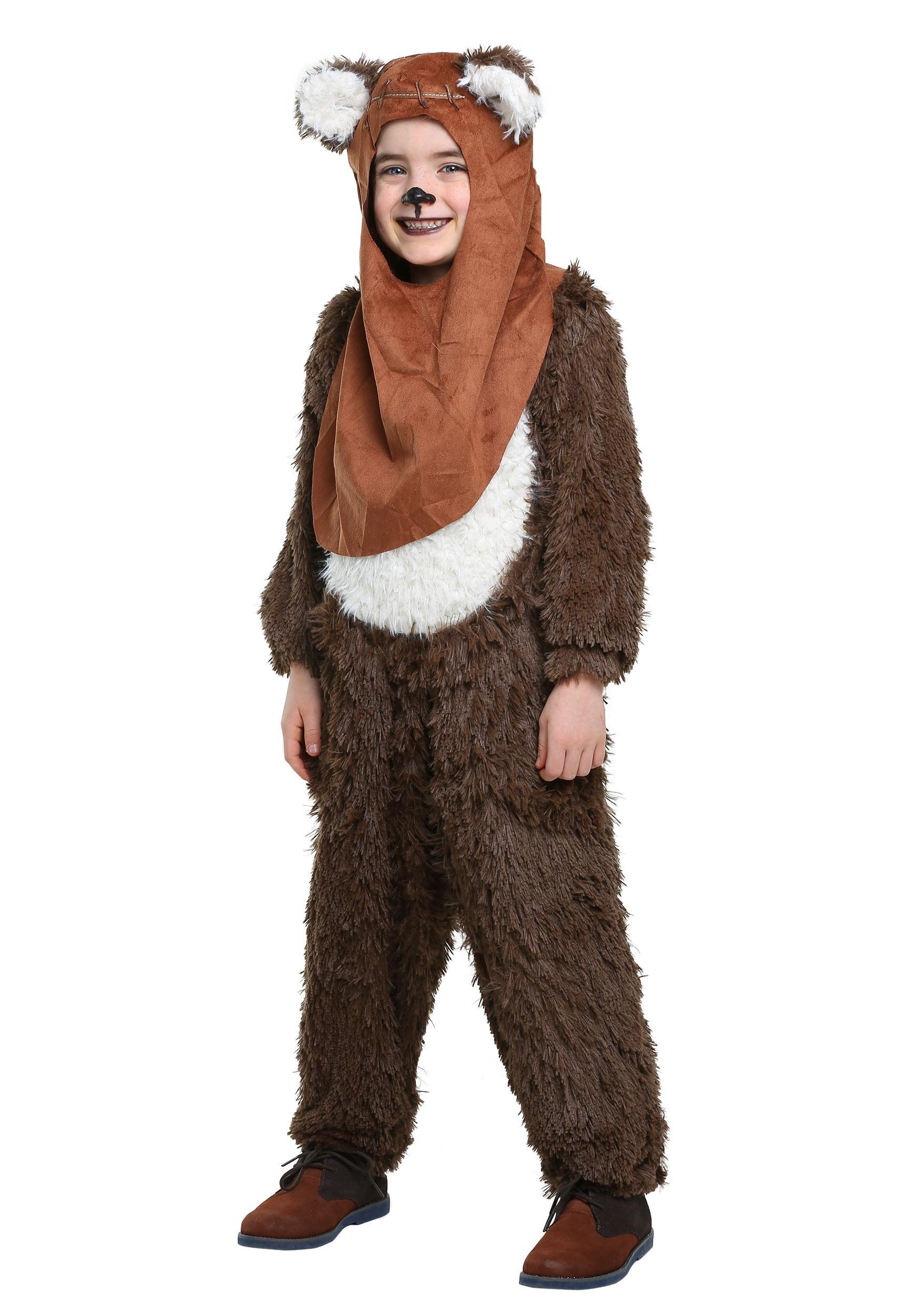 sc 1 st  Halloween Costumes & Child Deluxe Wicket/Ewok Costume