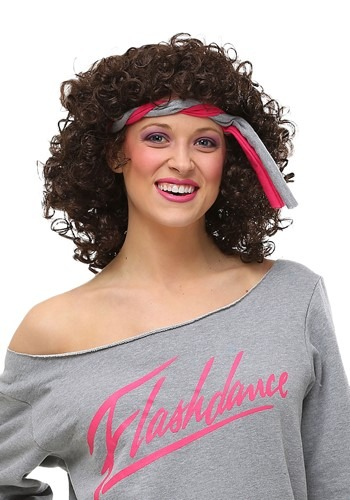Click Here to buy Flashdance Wig for Women from HalloweenCostumes, USA Funds & Shipping