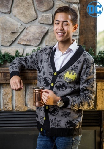 Batman Ugly Christmas Cardigan