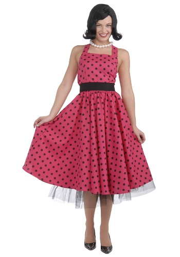 50s Polka Dot Dress Costume By: Forum Novelties, Inc for the 2015 Costume season.