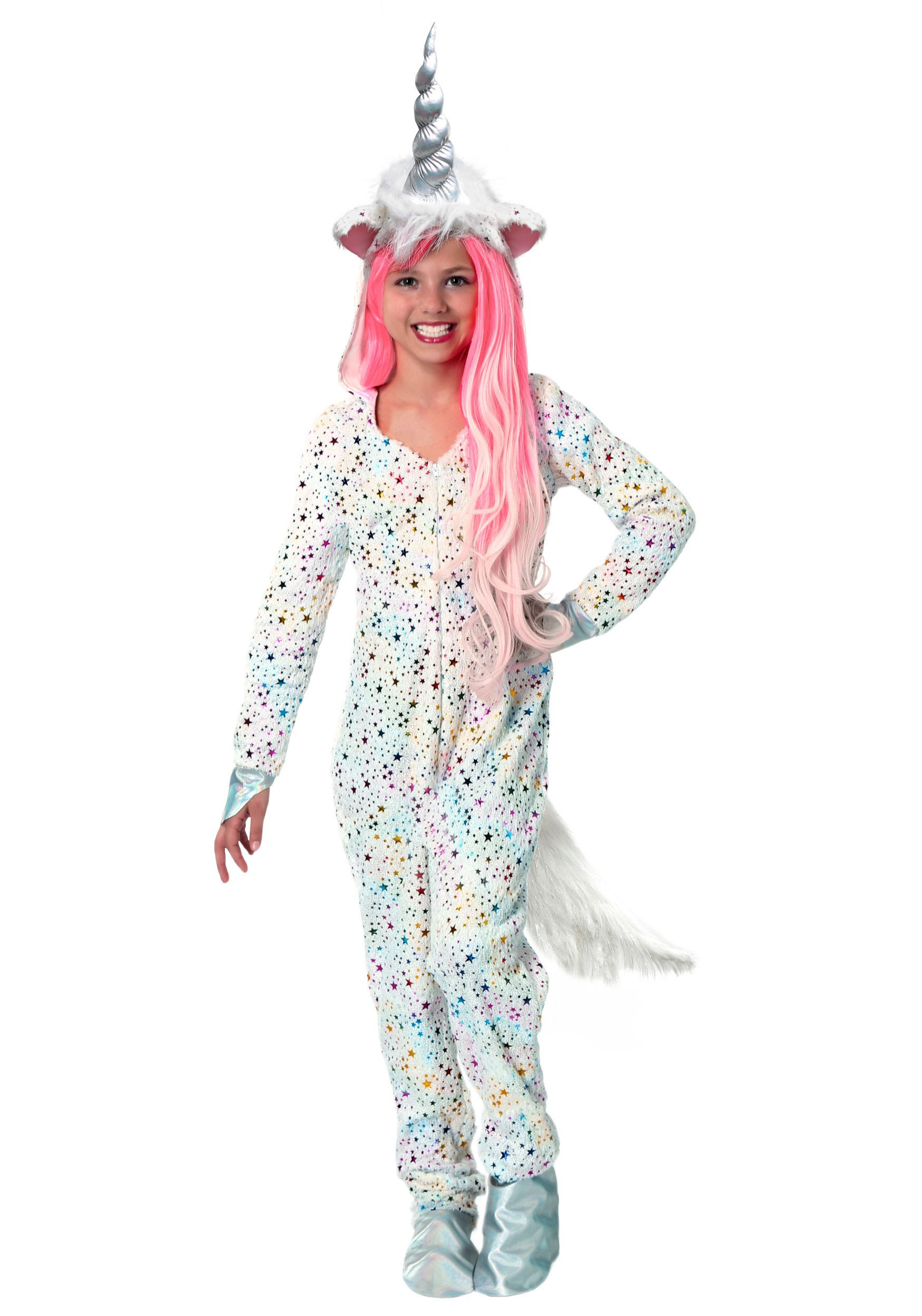 girls magical unicorn costume