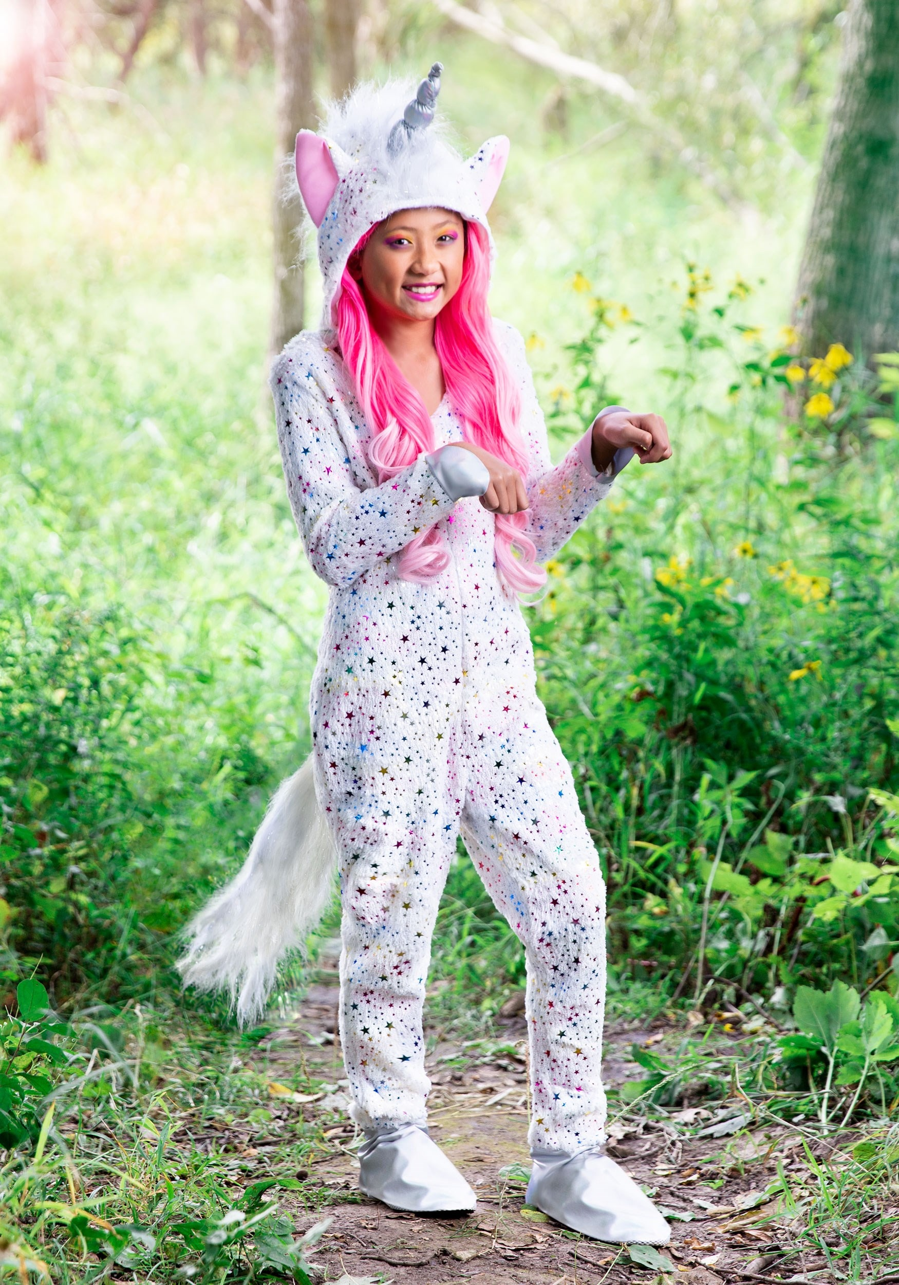 Girl/'s Magical Unicorn Costume