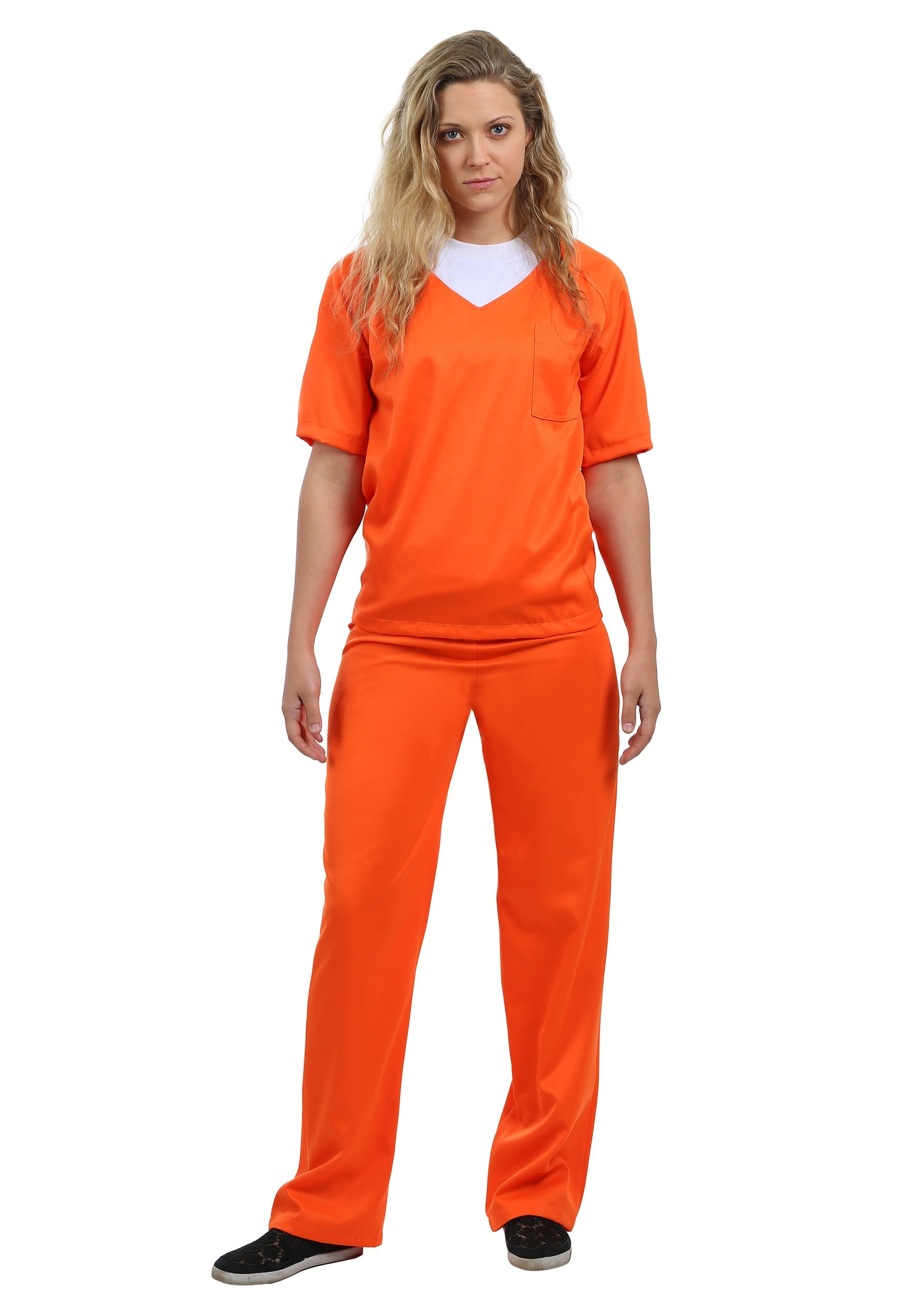 sc 1 st  Halloween Costumes & Womenu0027s Orange Prisoner Costume