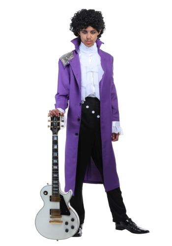 Purple Rock Legend Costume for Men