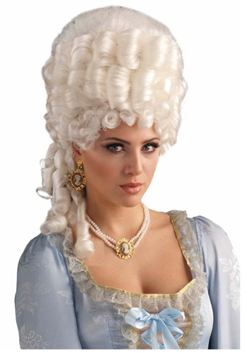 Deluxe Marie Antoinette Wig By: Forum Novelties, Inc for the 2015 Costume season.