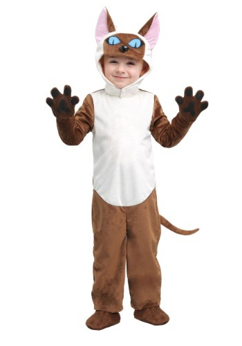 Toddler Siamese Cat Costume