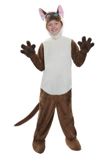 Child Siamese Cat Costume